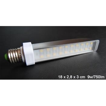 Aluminio de 9w E27 Led bombilla ultra económico verde sensación