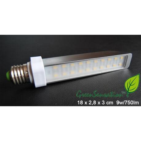 Bulb E27 Led 9w aluminium ultra economic Green Sensation