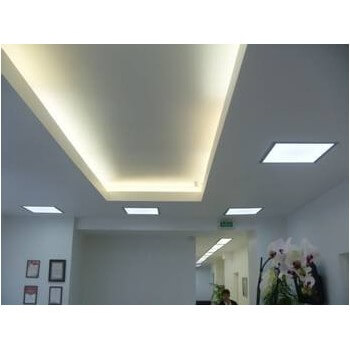 Led Panel 60 x 60 x 1 cm white neutral 38w with transformer square