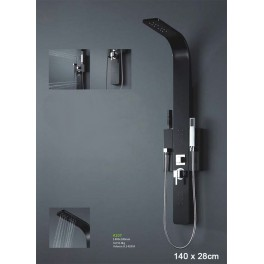 Shower balneo 140X28cm (centre 13cm) A107