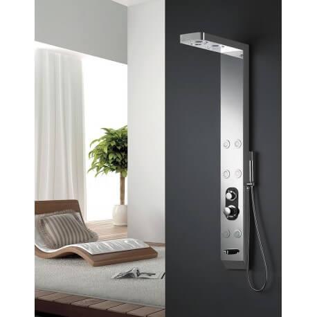 Balneo 150X18x8cm S168 stainless shower column