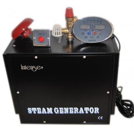 Professional steam generator Intense 4 kw for Hamam (exhibit 3 to 5 m3)