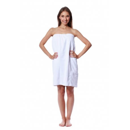 Sauna white 70 x 140 cm SPA 100% cotton towel