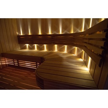 Kit lighting for Sauna 9.6 W - 12 spots (0, 8W) Led recessed
