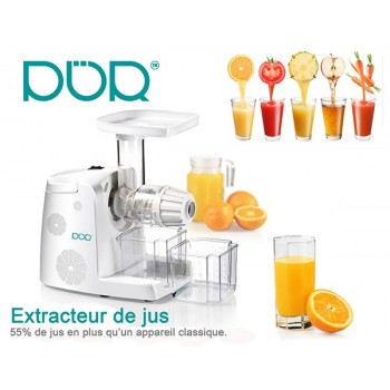 Slow Juicer 80 RPM Extractor for juice fruit and vegetables with offered grater
