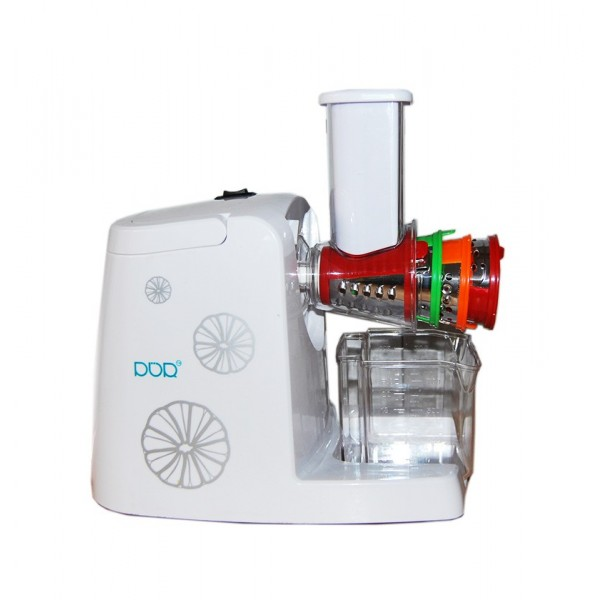 Slow Juicer 80 Rpm : Slow Juicer 80 RPM Extractor for juice fruit and vegetables with offered grater - Desineo