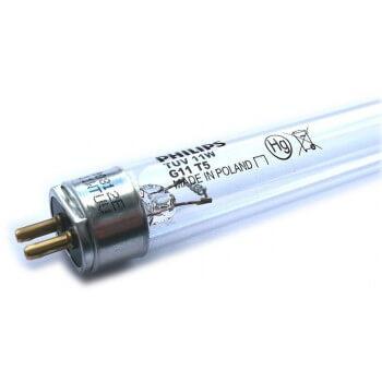 Ampoule tube UV 16 W Philips 2 Pin de chaque coté pour Stérilisateur UV