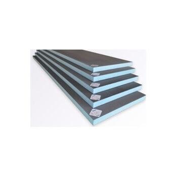 Señales de construcción Valstorm en XPS (poliestireno extruido rígido) 1250 x 600 x 75 mm listo para azulejo