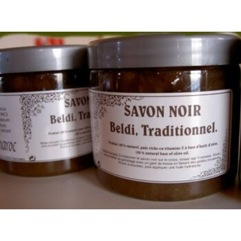 Beldi 100% natural black SOAP