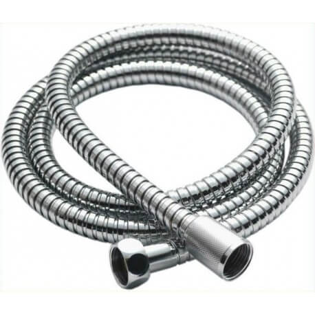 "Spray hose 130 cm chrome Inox format standard 1/2 ""(15 x 21mm)"