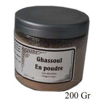 Rhassoul traditionnel 200Gr