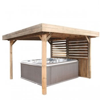 Pavillon Gazebo Flat Roof