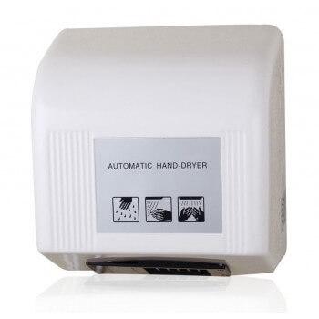 Sèche mains blanc Automatique 1800w infrarouge