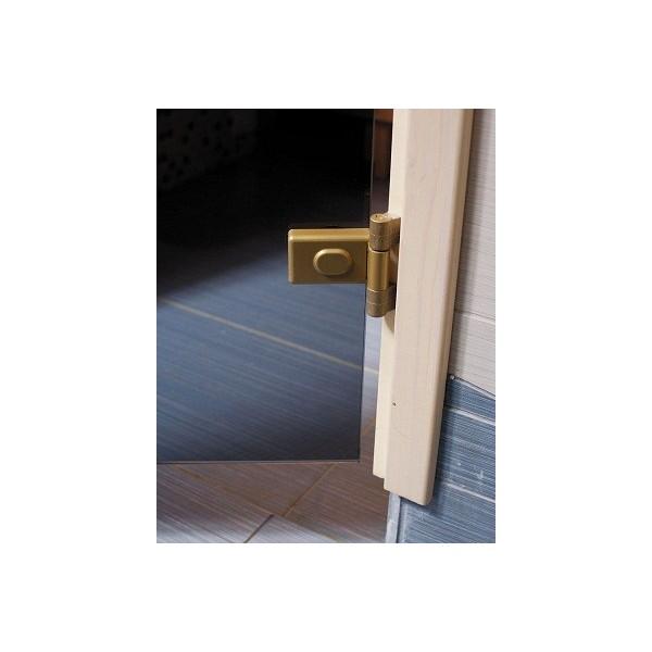 Porte de sauna en verre s curite 8mm for Porte verre 60 cm