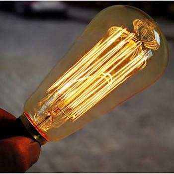Lampe vintage bulb Edison E14 ST48
