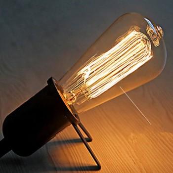 Lamp vintage bulb Edison E14 ST48