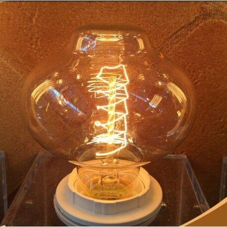 Bulb E27 filaments vintage apparent bulb Edison BR85