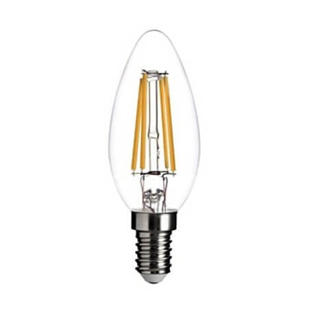 Vintage led C35 E14 - 4W apparent filaments bulb
