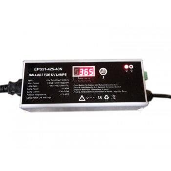 Indicatore di utilizzo per sterilizzatore UV con zavorra funzionamento indicatore