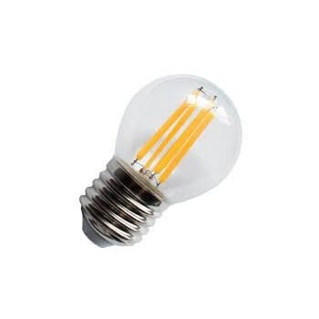 Lot of 3 bulbs to LED G45 E27 4w vintage style Edison bulb
