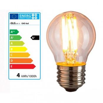 Stile vintage a lampadina G45 E27 4w LED lampadina di Edison