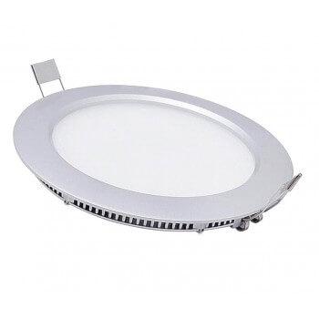 Satz von 3 Runde LED 6W weiße neutrale 12 cm 15/22V Zeichen