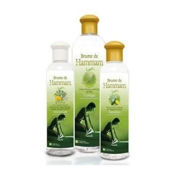 Brume de hammam Eucalyptus / Menthe Respiratoire et Rafraichissant