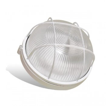 Box round waterproof for Sauna for bulb E27