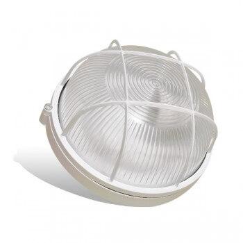 Caja redonda impermeable para Sauna para bombilla E27