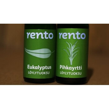 Duo of essences for sauna eucalyptus RENTO (2 x 10ml)