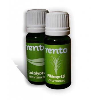 Duo von Essenzen für Sauna Eukalyptus RENTO (2 x 10ml)