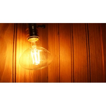 Lamp vintage 4w led R80 E27 style bulb Heather