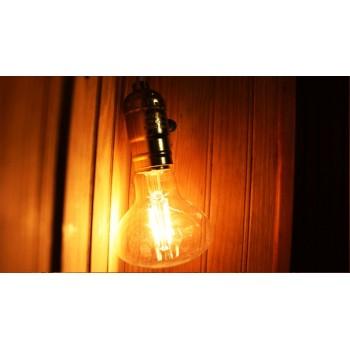 Stile vintage a lampadina R80 E27 4w LED lampadina di Edison