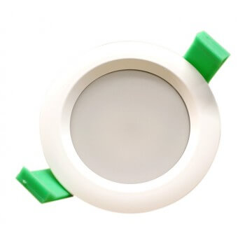 LED spot round 95mm IP65 7W warm white