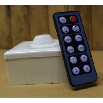 Variateur d'intensité d'éclairage télécommandé 12-24V