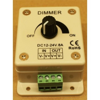 Variateur d'intensité pour éclairage led 12 - 24 V