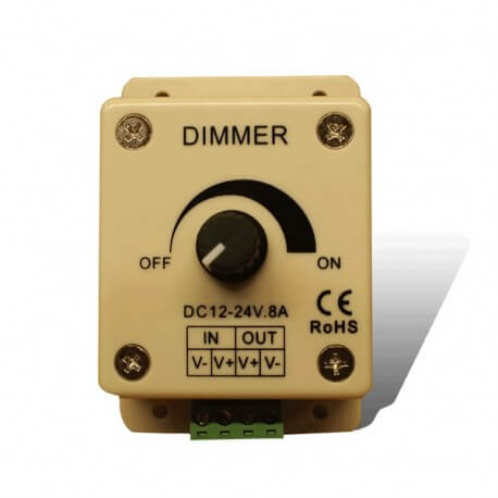 Dimmer for lighting led 12-24 V