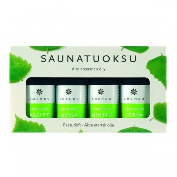 Aromas Emendo for Sauna 4 x 10 ml Pack