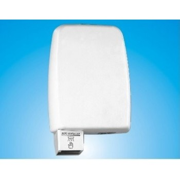 Vitech white ABS 950W automatic hand dryer has infrared detection