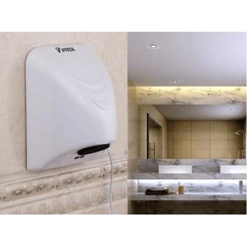 Sèche mains compact Vitech automatique 14x21.5x16 cm 800 W infrarouge