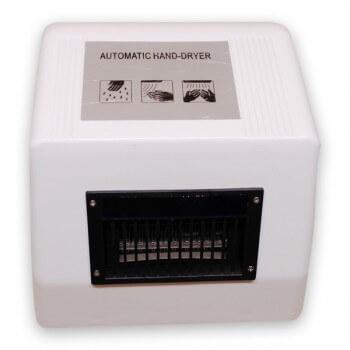 Händetrockner, Elektrisch und automatisch, Vitech, Infrarot, 1800W