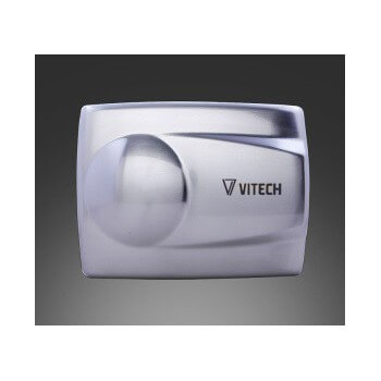 Sèche-mains Vitech mural infrarouge en INOX 1400 W