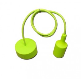 Light green silicone cover