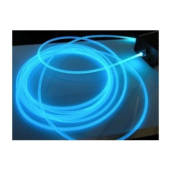 """Fibra di kit ottica 25 metri 45w Neon RGB """"Lato bagliore"""" per piscina, piscina"""