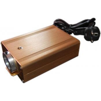 Light source for optical fiber 16W white