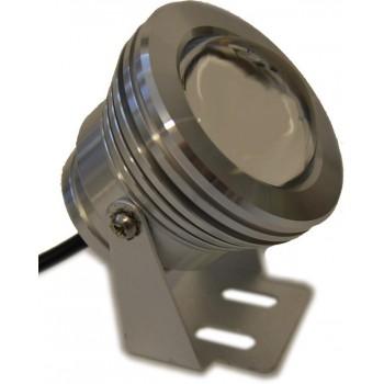 Spot à LED 10W IP68 étanche blanc acier inoxydable