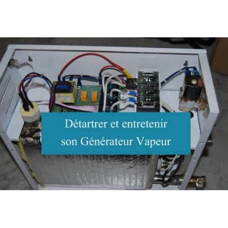 Record to descale the steam generator