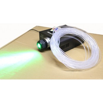 "Fibra kit óptica 25 metros RGB de neón de 45w ""Lado iluminado"" para piscinas, estanques"