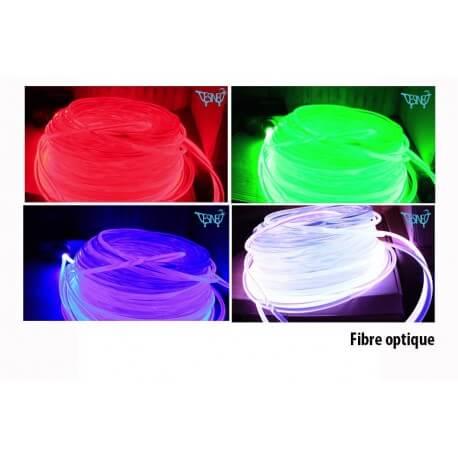 Fiber optics for generator of light through fiber 10mmo