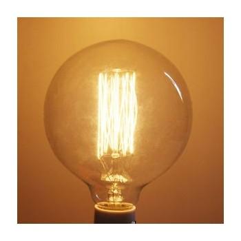 Lampe vintage bulb Edison E27 G95 40W